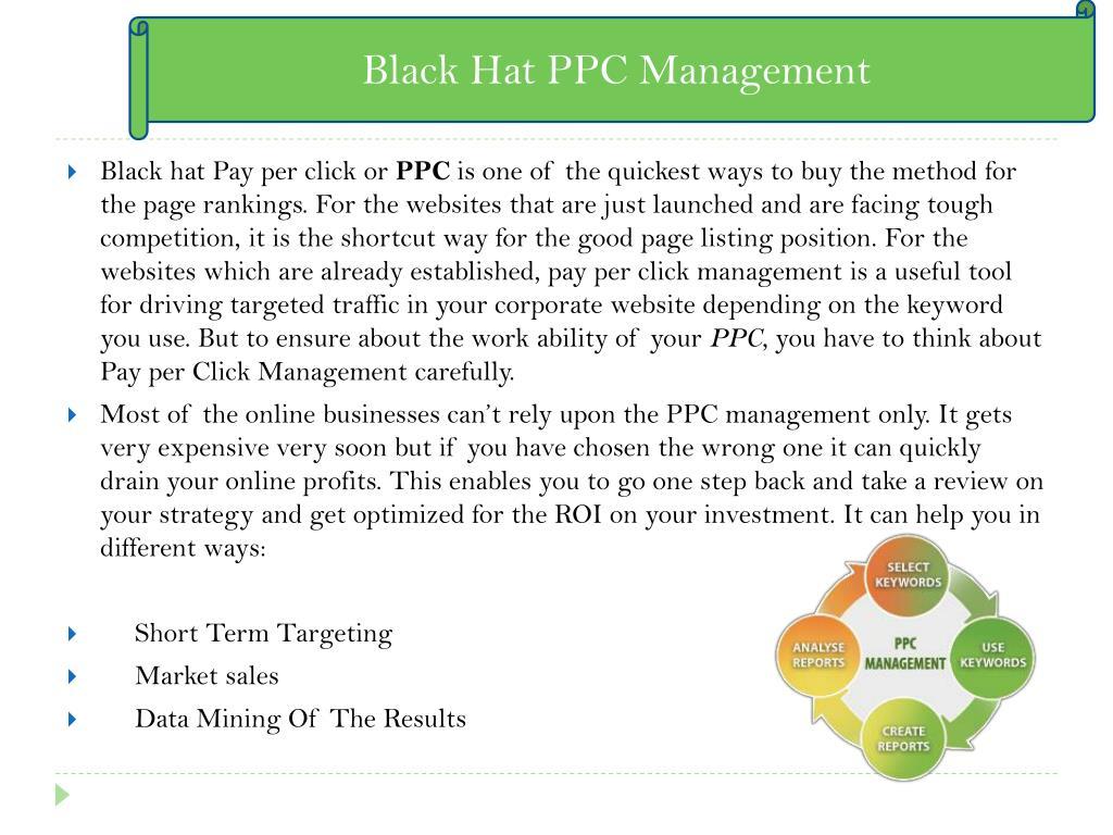 Black Hat PPC Management