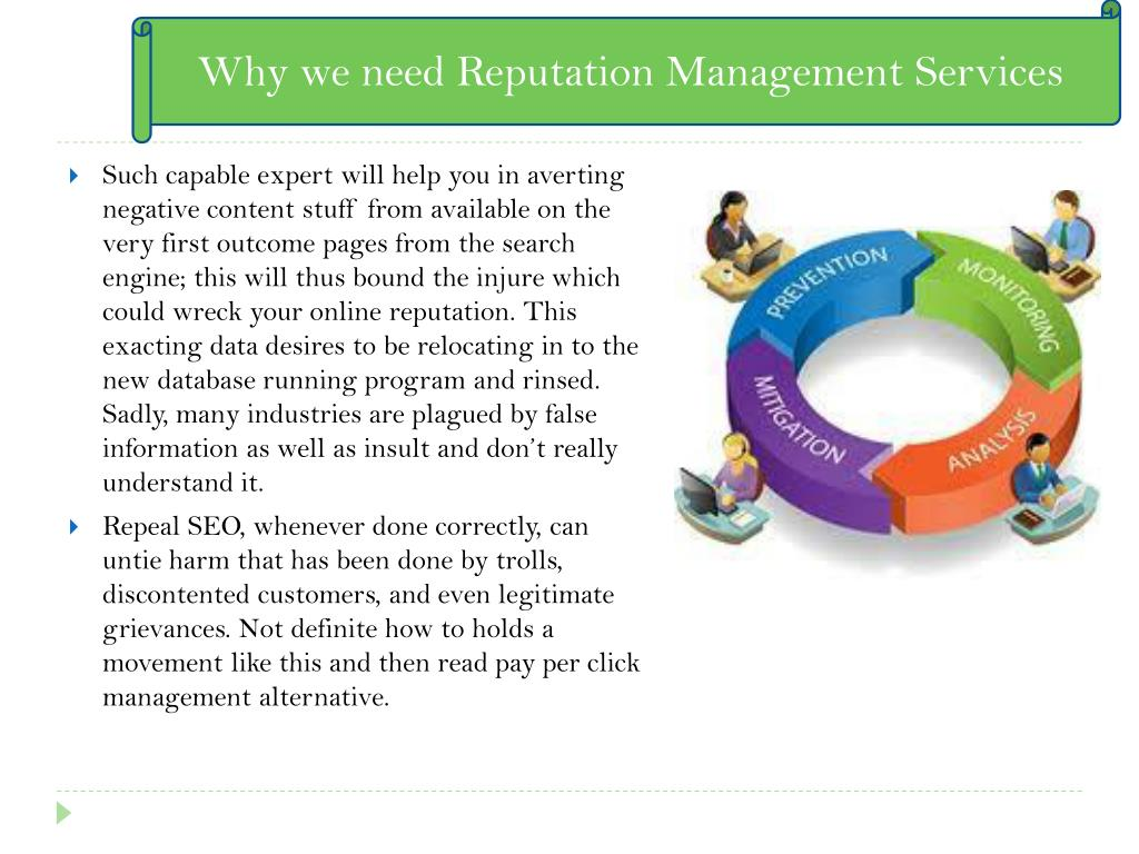 Why we need Reputation Management Services