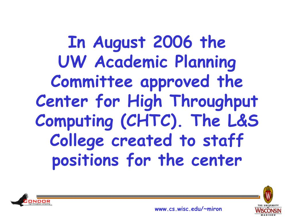 In August 2006 the
