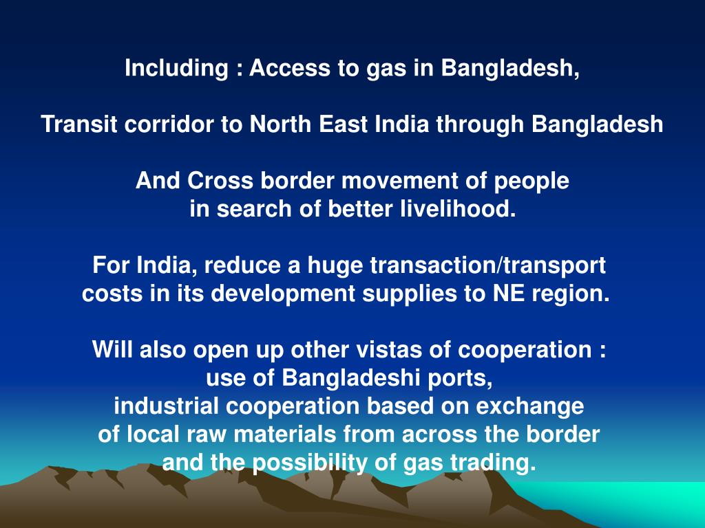 Including : Access to gas in Bangladesh,
