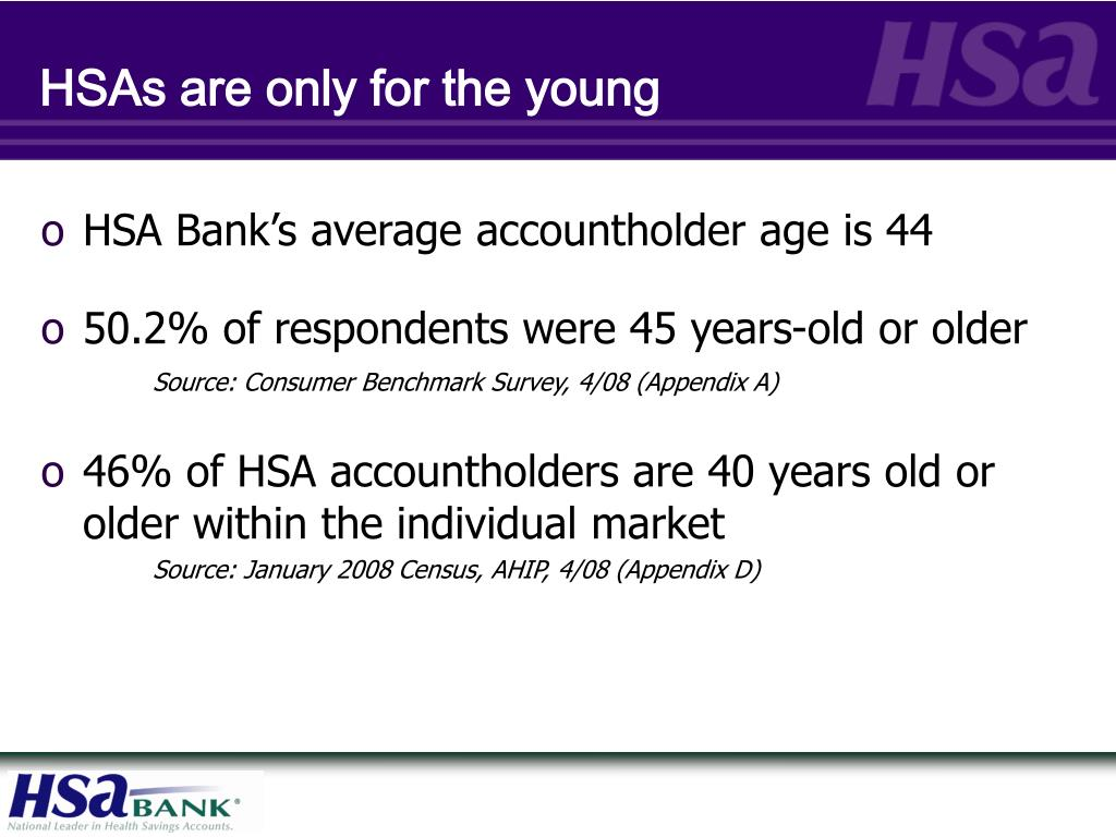 HSAs are only for the young
