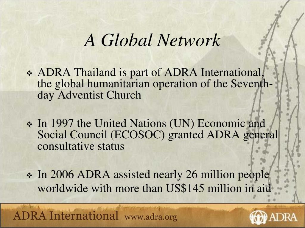 A Global Network