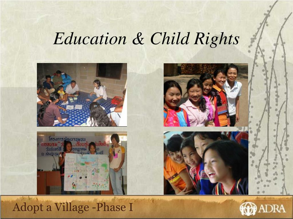 Education & Child Rights