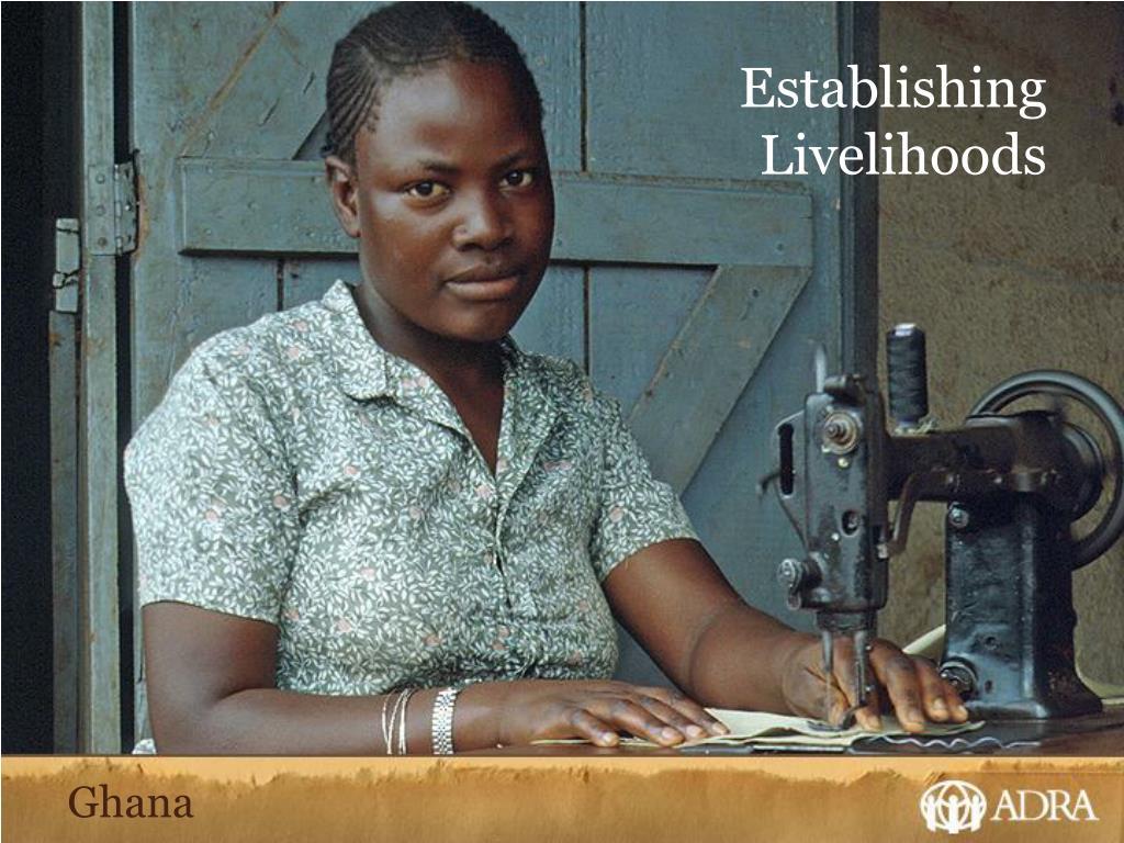 Establishing Livelihoods