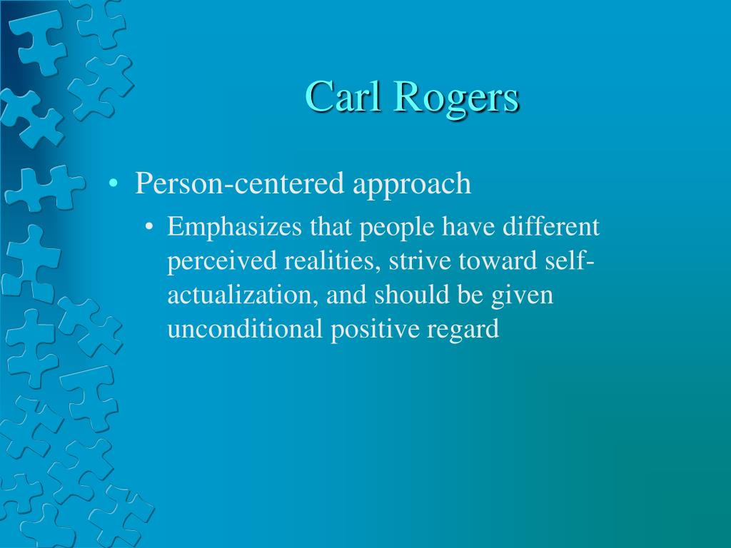 person centred approaches 4 essay Person-centered and mindfulness author institution person-centered and mindfulness introduction sadness and fear can be regarded as some of the most dominant em.