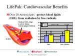 lifepak cardiovascular benefits