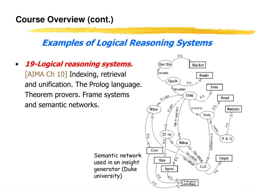 Course Overview (cont.)