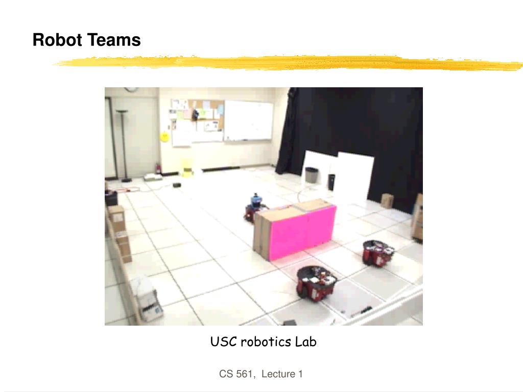 Robot Teams