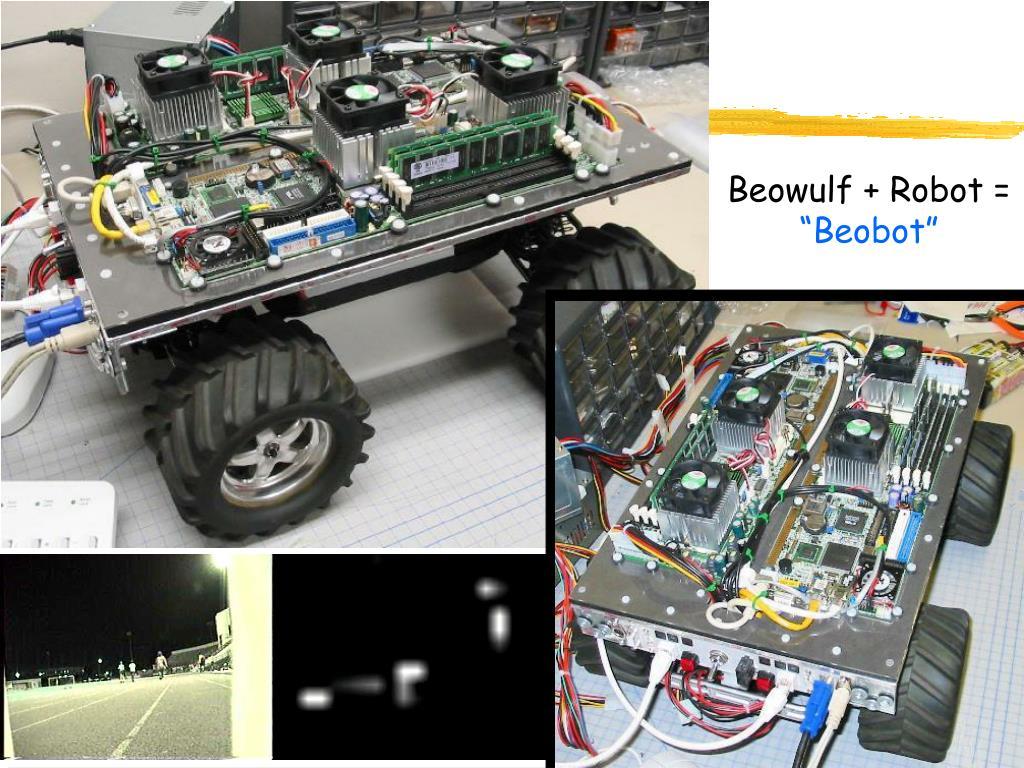Beowulf + Robot =