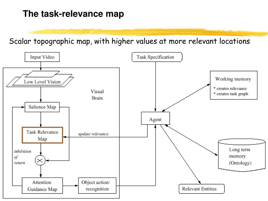 The task-relevance map