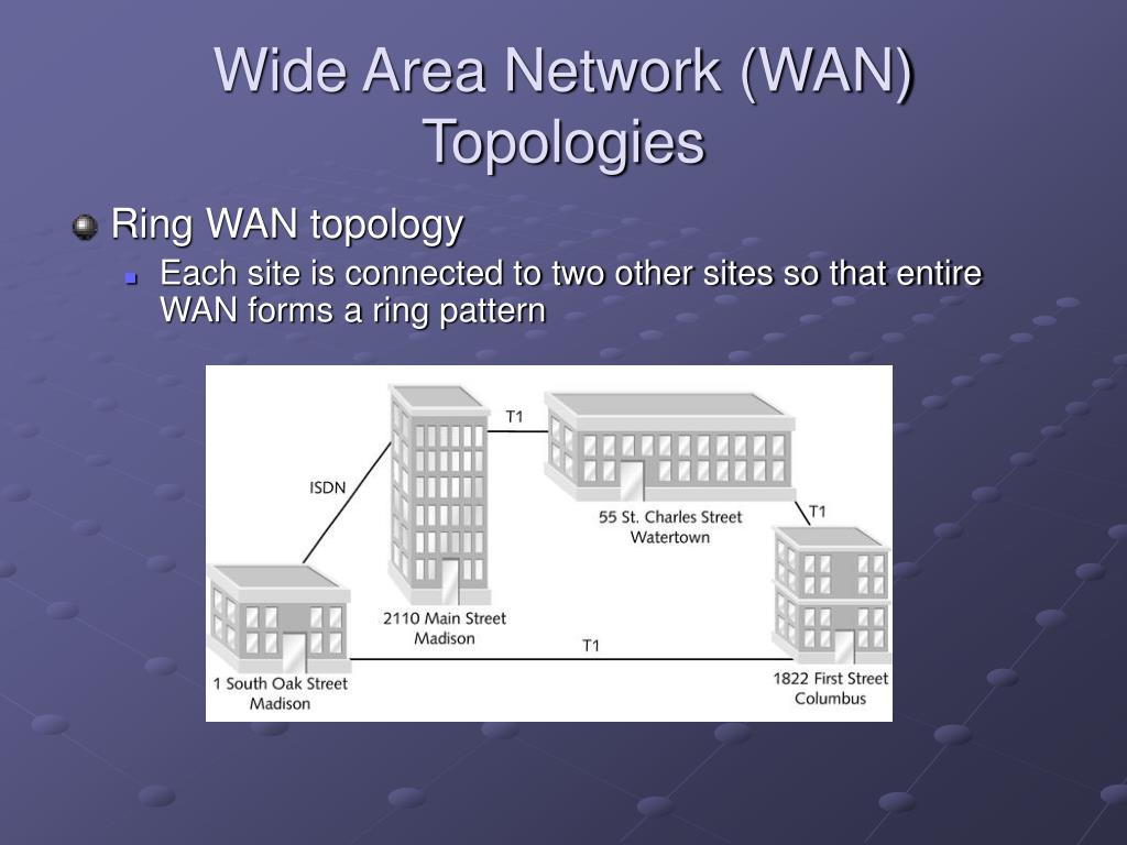 Wide Area Network (WAN) Topologies