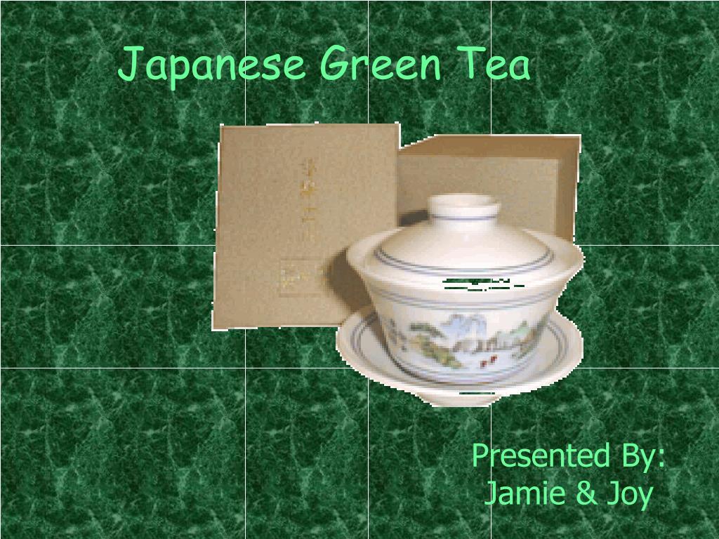 japanese green tea l.