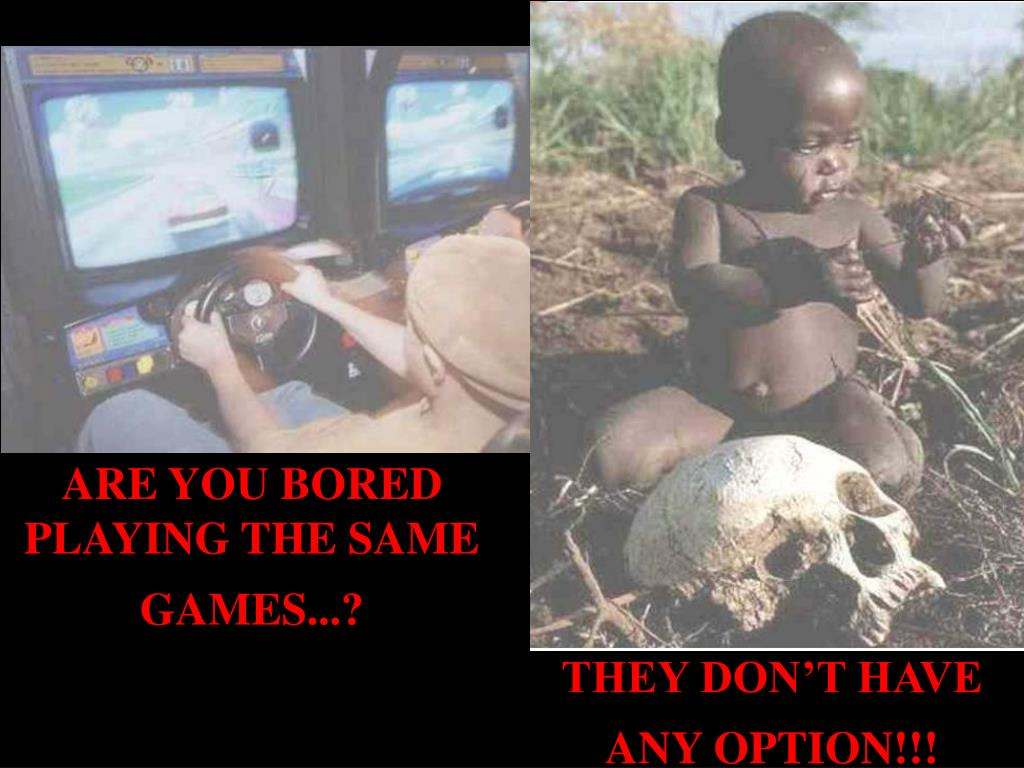 ARE YOU BORED PLAYING THE SAME GAMES...?