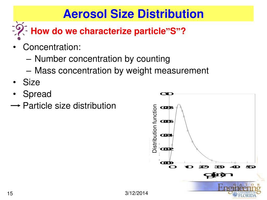 Distribution function