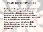 team effectiveness41