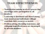 team effectiveness42