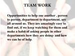 team work11
