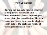 team work8