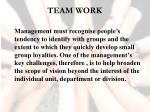 team work9