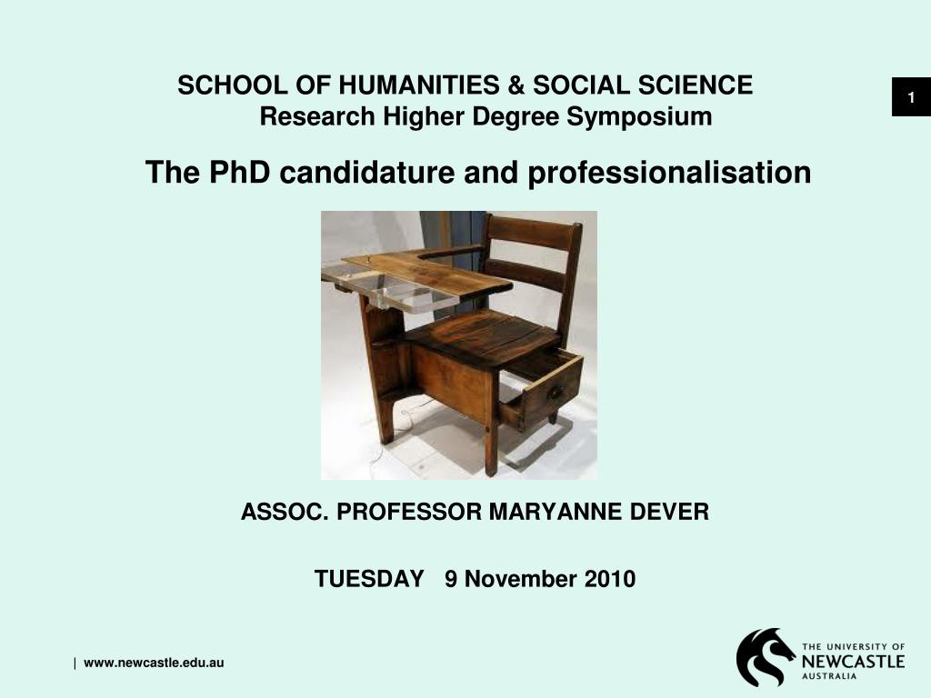 school of humanities social science research higher degree symposium l.