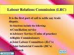 labour relations commission lrc