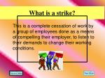 what is a strike