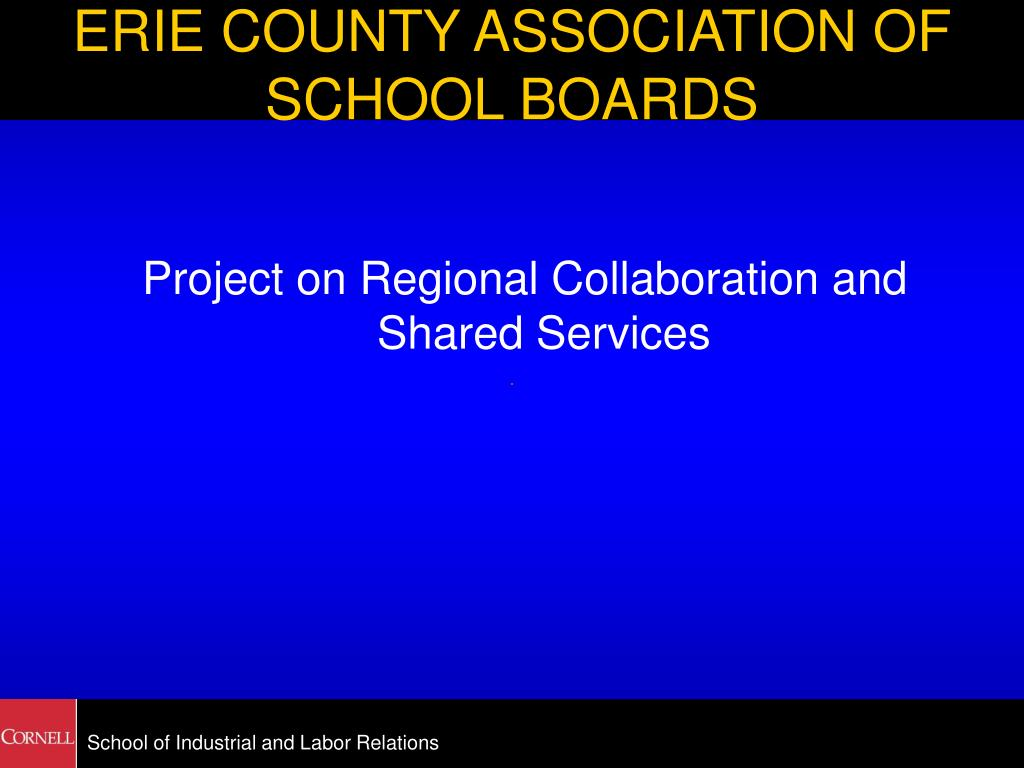 erie county association of school boards l.