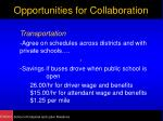 opportunities for collaboration13