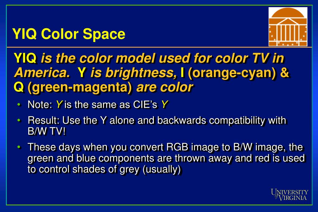 YIQ Color Space