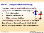 pp6 cc computer mediated buying
