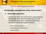 chapter 11 managing knowledge13