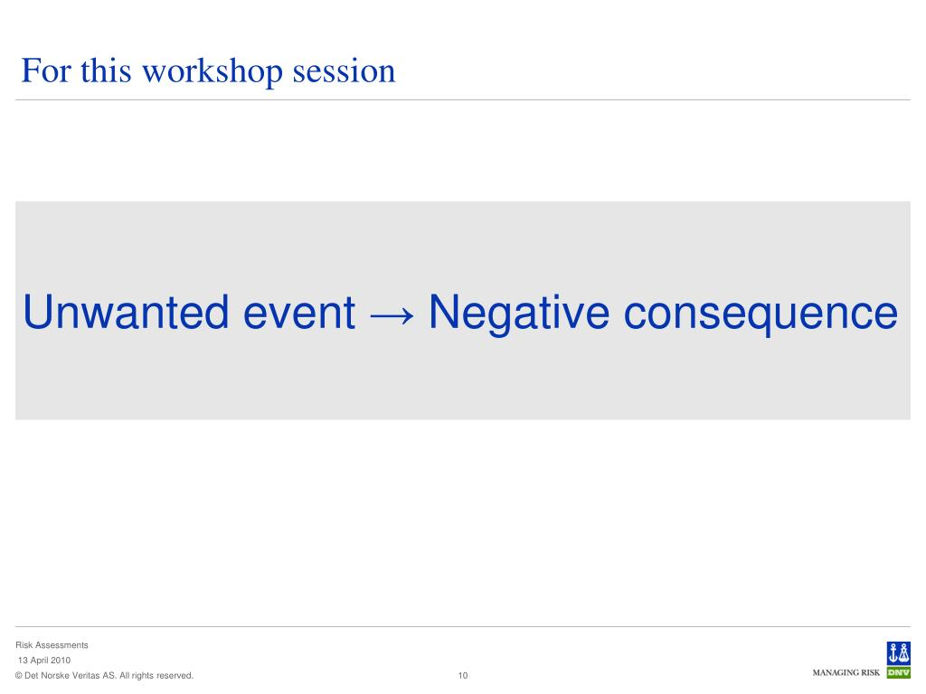 For this workshop session