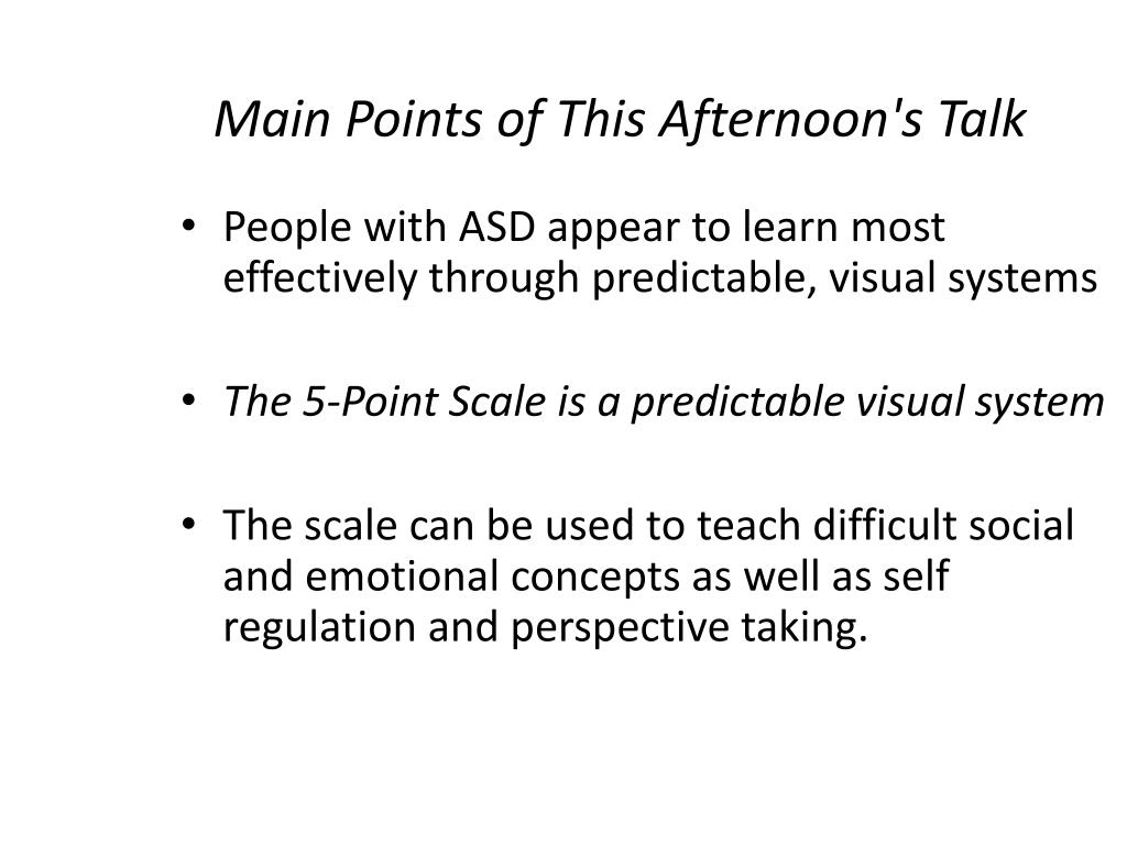 Ppt The Incredible 5 Point Scale Powerpoint Presentation Free Download Id 378073