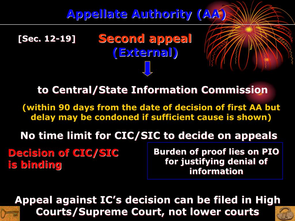 Appellate Authority (AA)