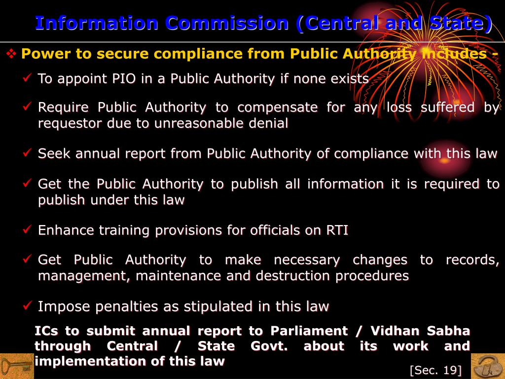 Information Commission (Central and State)