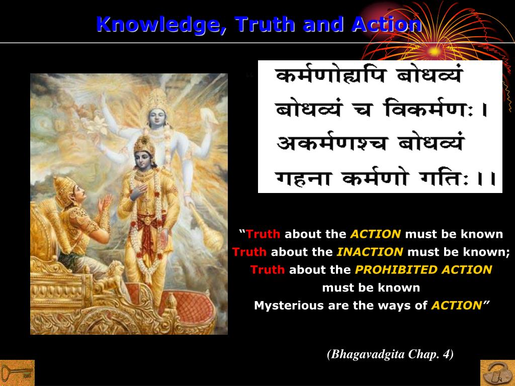 Knowledge, Truth and Action