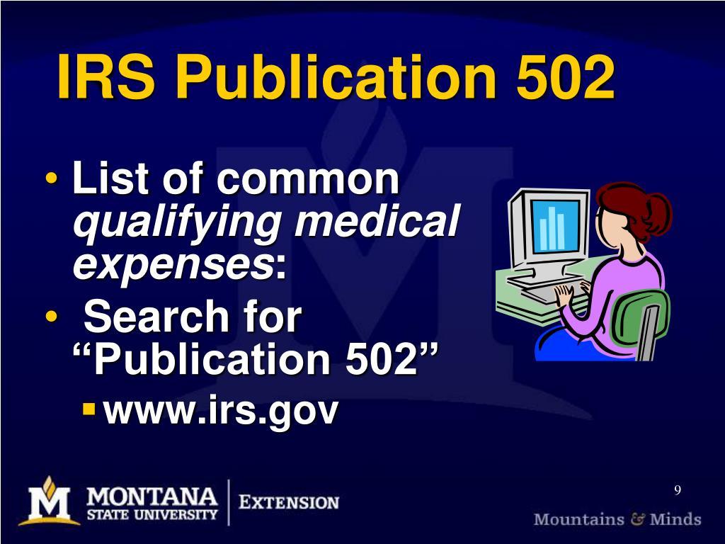 IRS Publication 502