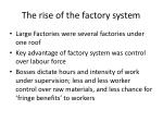 the rise of the factory system26