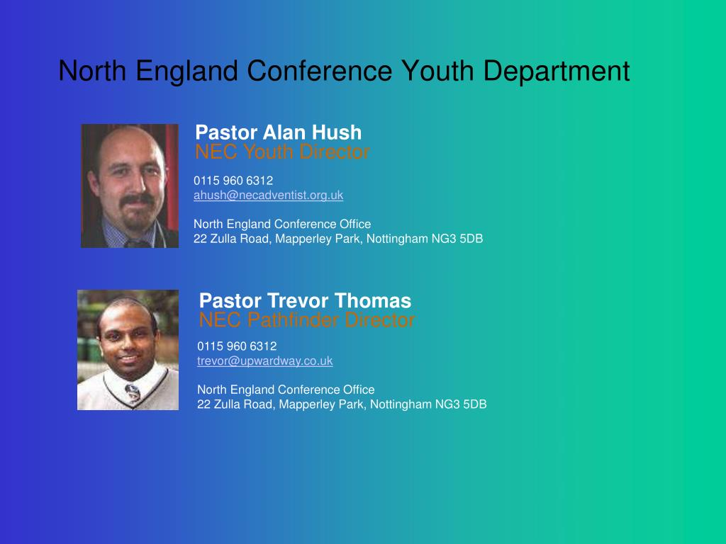 North England Conference Youth Department