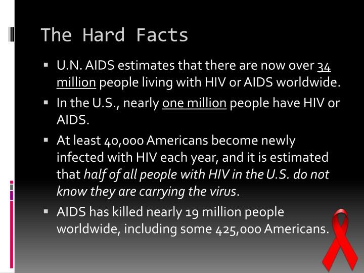 The hard facts