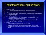 industrialization and historians