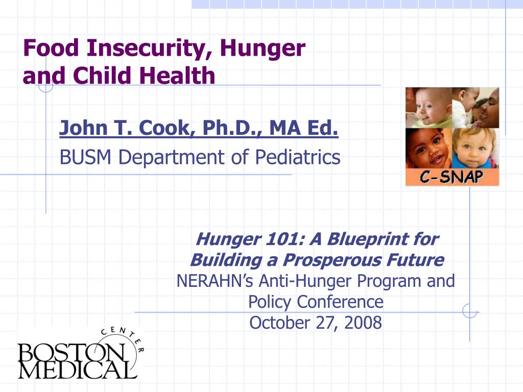 Food Insecurity, Hunger