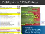 visibility across all the features