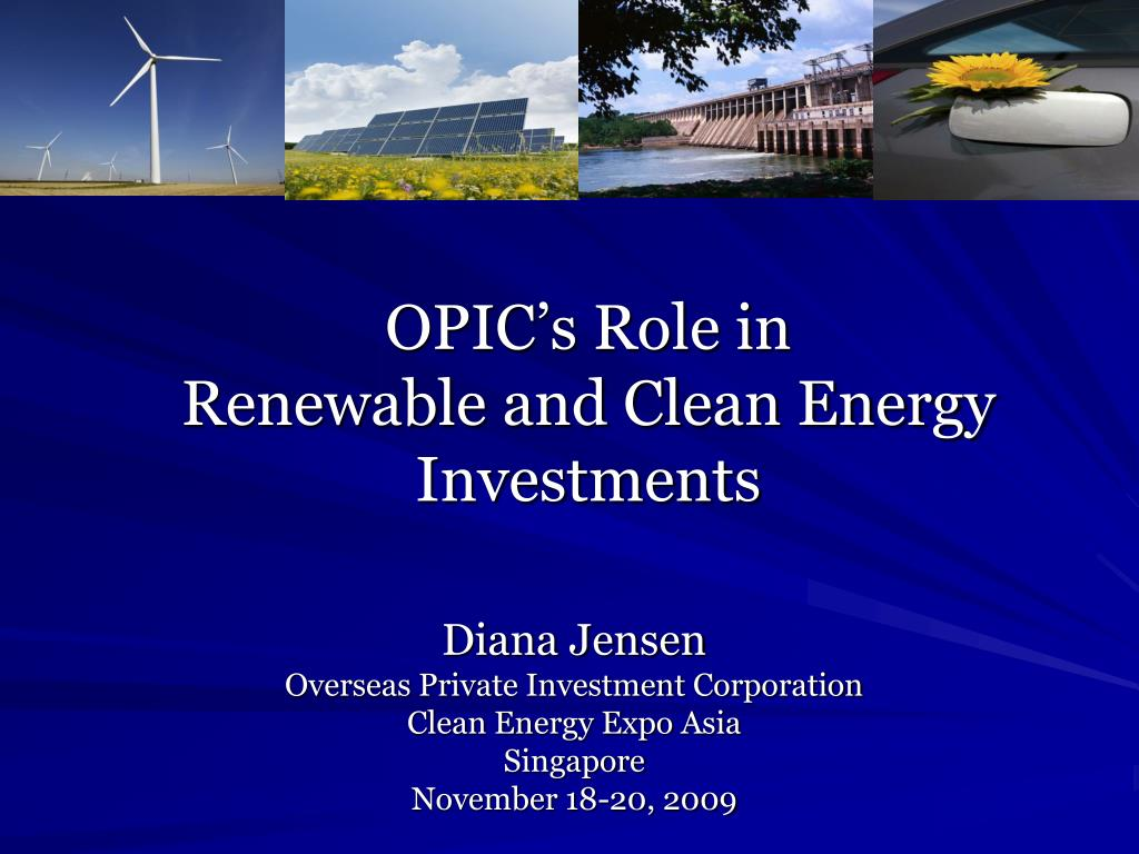 OPIC's Role in