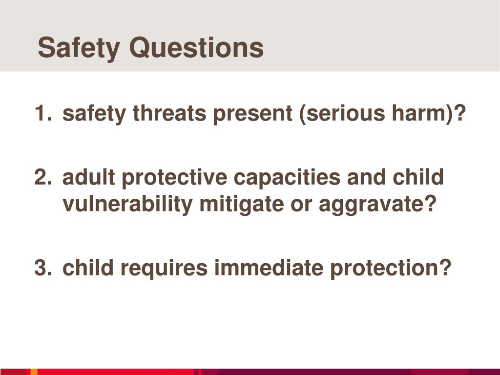 Safety Questions