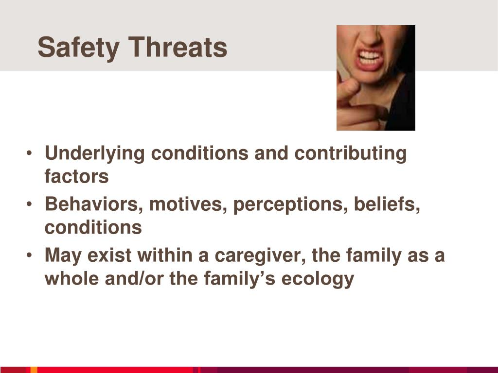 Safety Threats