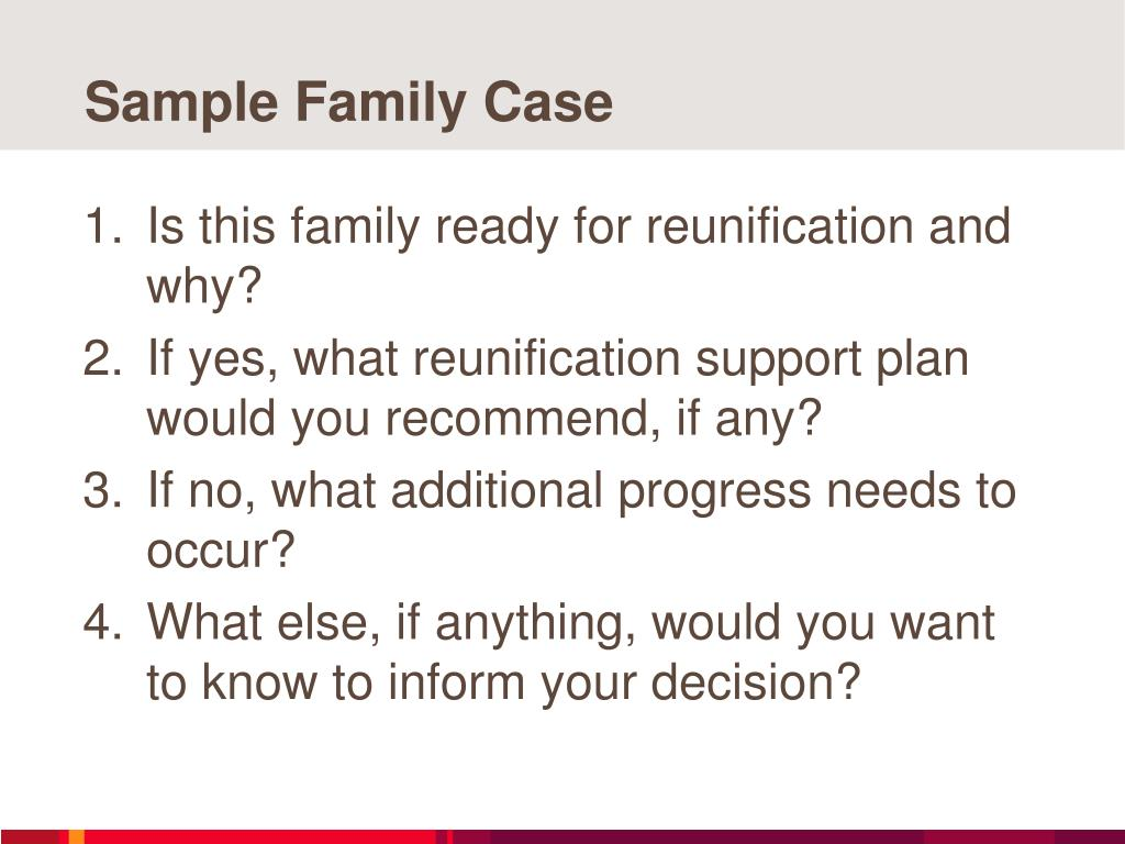 Sample Family Case