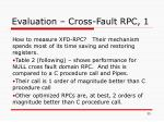 evaluation cross fault rpc 1