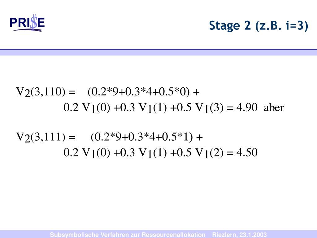 Stage 2 (z.B. i=3)