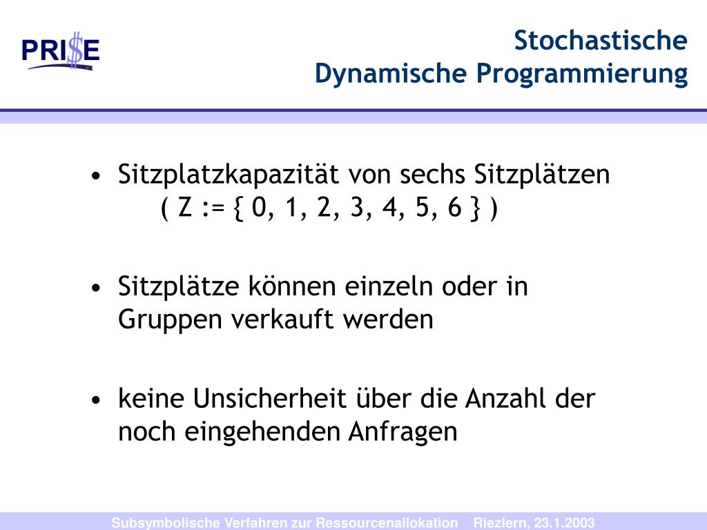 Stochastische